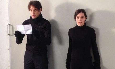 """Primera part del rodatge de """"La Fàbrica""""."""
