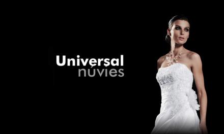 Universal Núvies: La teva botiga de núvia a Tarragona, ara amb descomptes del 50 al 70%