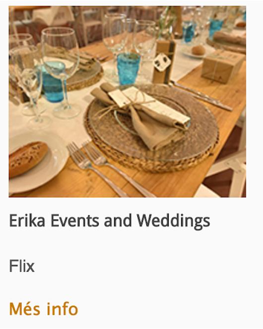 Erika Events & Wedding