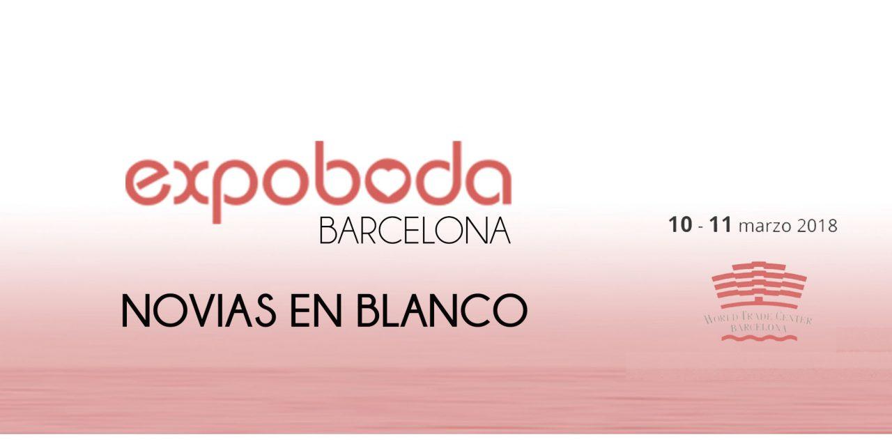 Novias en Blanco tindrà presència a l'ExpoBoda Barcelona 2018