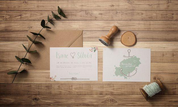 Invitacions originals i en tots els estils pel teu casament
