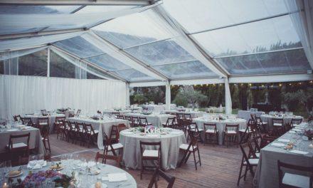 Carpes i Decoració : El pla B perfecte pel teu casament a l'aire lliure