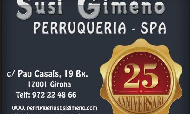 La Perruqueria Susi Gimeno celebra 25 anys!